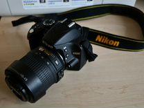 Nikon D3200 с объективом 18-55 AF-S VR + допы — Фототехника в Петрозаводске