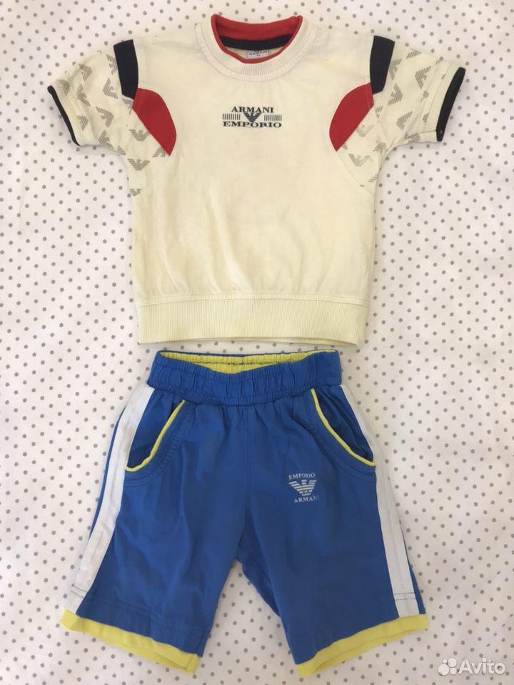 Футболка и шорты armani orig. 92  89628553030 купить 1
