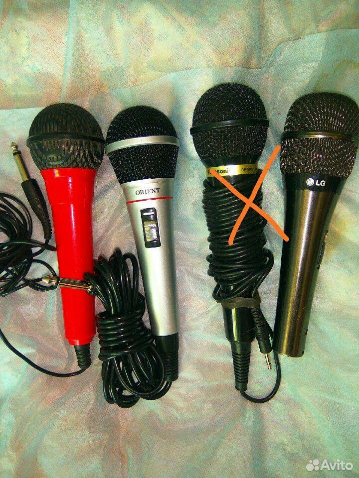 89632955634  Микрофоны для караоке и компьютерами