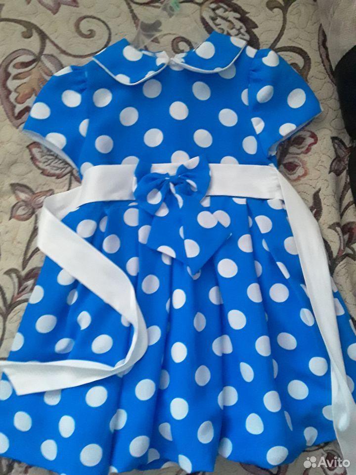 Платье в горошку 89050294083 купить 3