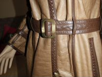 Люкс двустороннее пальто из Каракульчи с капюшоном