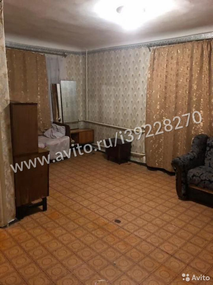 1-к квартира, 35 м², 1/2 эт.