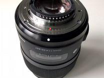 Объектив Sigma Art 35 mm 1.4