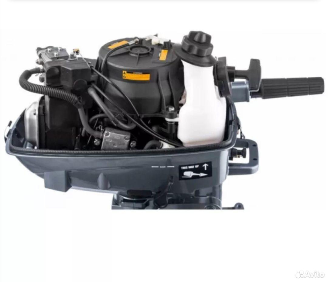 Лодочный мотор микацу 5л.с 4 тактный