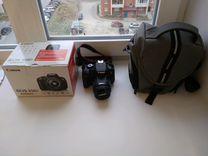 Canon 650D body+переносная сумка