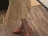 Шикарная юбка из шиться Италия