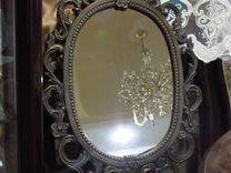 Зеркало СССР в металл.раме — Мебель и интерьер в Геленджике