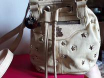 Балетки из натуральной кожи и сумочка - рюкзак