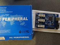 Расширитель портов PCI-E с 1 на 3 (сплиттер)